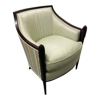 Baker Furniture Deco Lounge Chair For Sale