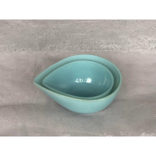 Anchor Hocking Mid-Century Modern Anchor Hocking Glass Nesting Bowls - a Pair For Sale - Image 4 of 12