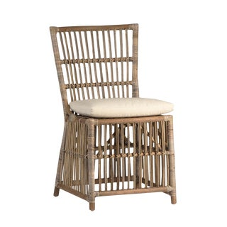 Woven Dining Chair W/Cushion For Sale