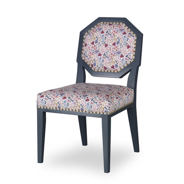 Traditional Chantal Side Chair For Sale - Image 3 of 3