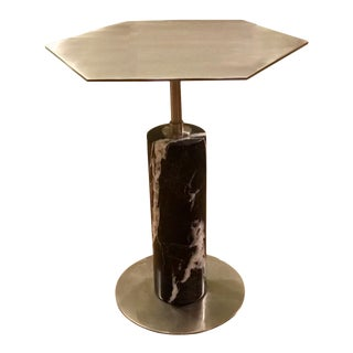 Interlude Home Beck Stone Side Table For Sale