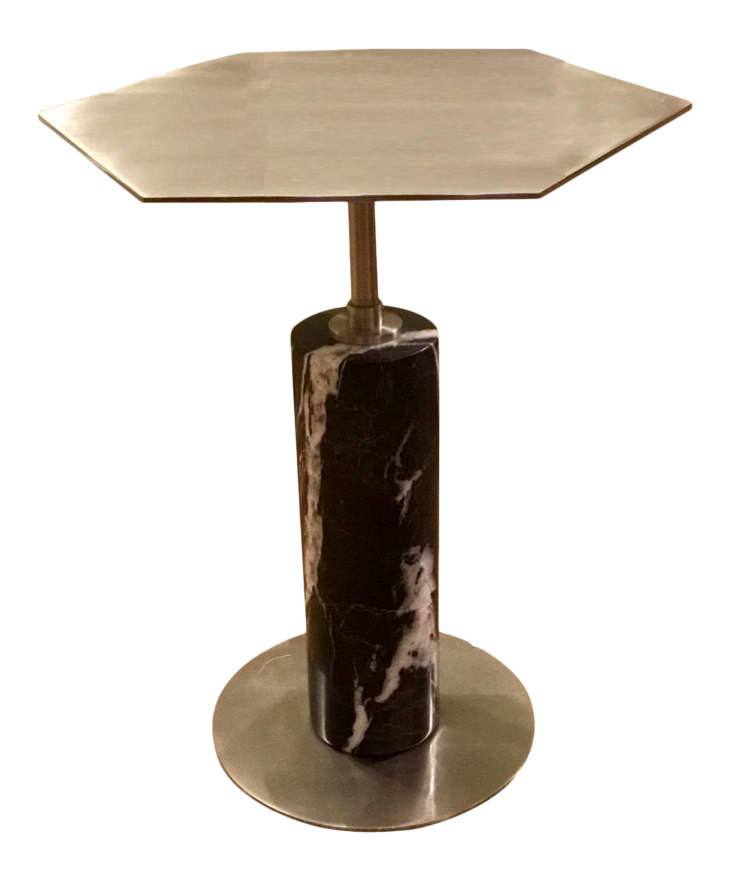 Interlude Home Beck Stone Side Table