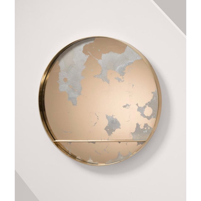 The Orbit Wall Mirror by Emma Peascod For Sale In New York - Image 6 of 6