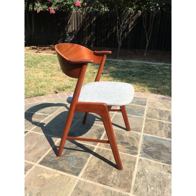 1960s Danish Modern Teak Dining Chairs by Kai Kristiansen for Korup Stolefabrik - Image 2 of 10