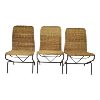 Mid-Century Modern Eisler Chairs - Set of 3