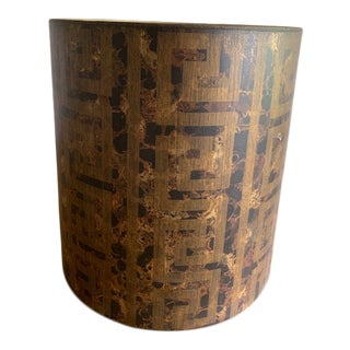 Vintage Mid-Century Stiffel Asian Lamp Shade For Sale