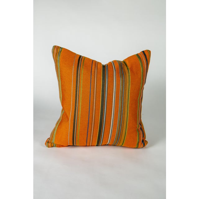 """Mid-Century Modern 18"""" Maharam Point by Paul Smith Pillows, Pair For Sale - Image 3 of 6"""