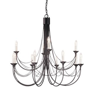 Carisbrooke 12 Light Chandelier For Sale