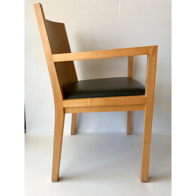 1980s 1980s Vintage Ward Bennett Side Chair For Sale - Image 5 of 9