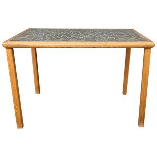 Gordon Martz Ceramic Tile Top Side Table for Marshall Studios For Sale