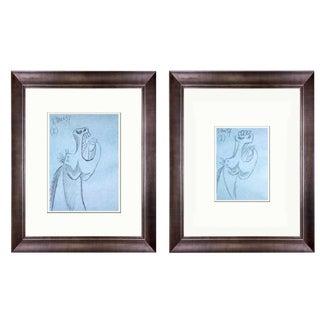 1990s Pablo Picasso Guernica Horse Study Prints - A Pair For Sale