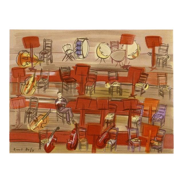 """L'Entracte"", Original Lithograph by Raoul Dufy (1965) For Sale"