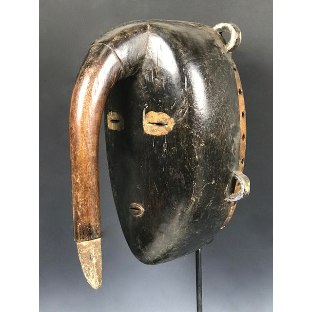 African Tribal Art Kulango Mask From Ivory Coast For Sale - Image 9 of 11