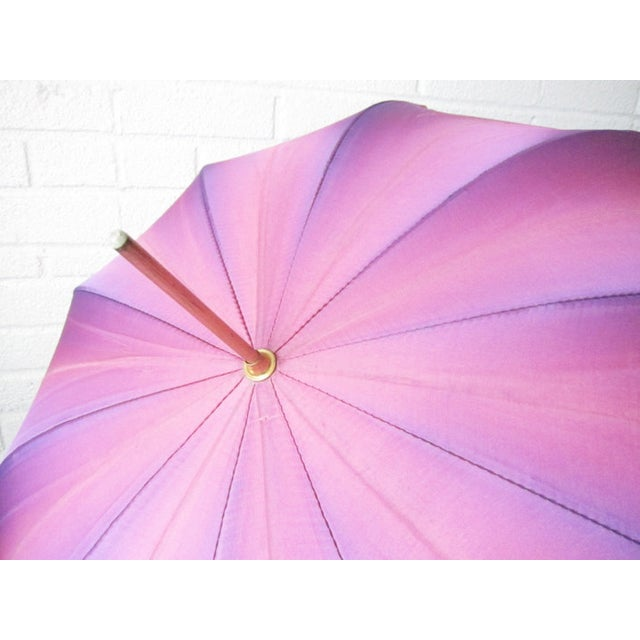 Vintage Purple Touch N Go Umbrella - Image 5 of 5