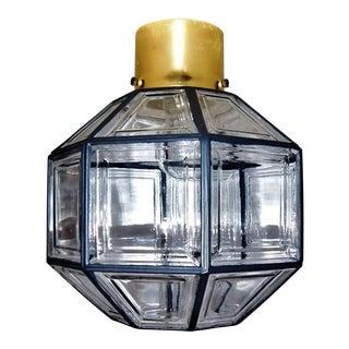 Ceiling lamp by Glashütte Limburg For Sale