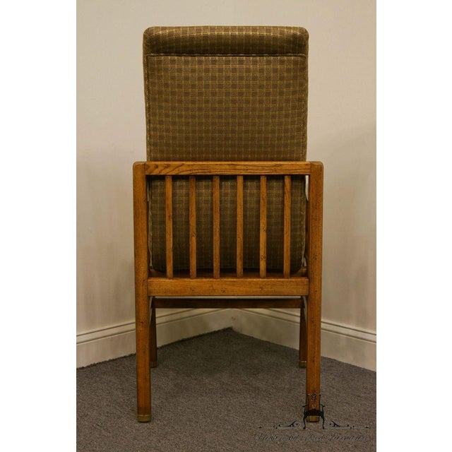 Henredon Mid-Century Modern Solid Walnut Dining Arm Chair For Sale - Image 9 of 13