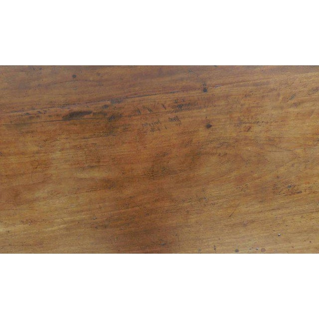 Antique Guatemalan Wooden Coffee Table With Turned Legs For Sale In Los Angeles - Image 6 of 9