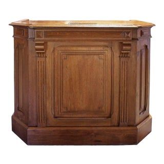 Early 20th Century Wooden Podium For Sale