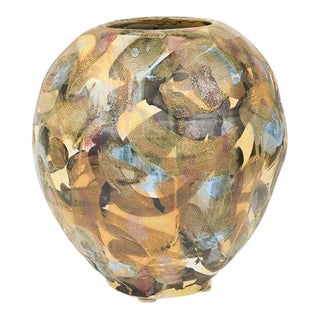 Large Contemporary Ceramic Pot 1 by David T. Kim For Sale