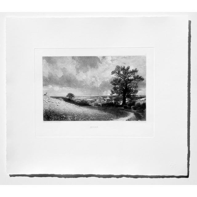 1990s John Constable & David Lucas Mezzotint Collection From the Tate Gallery in London 1990's - Set of 16 For Sale - Image 5 of 14
