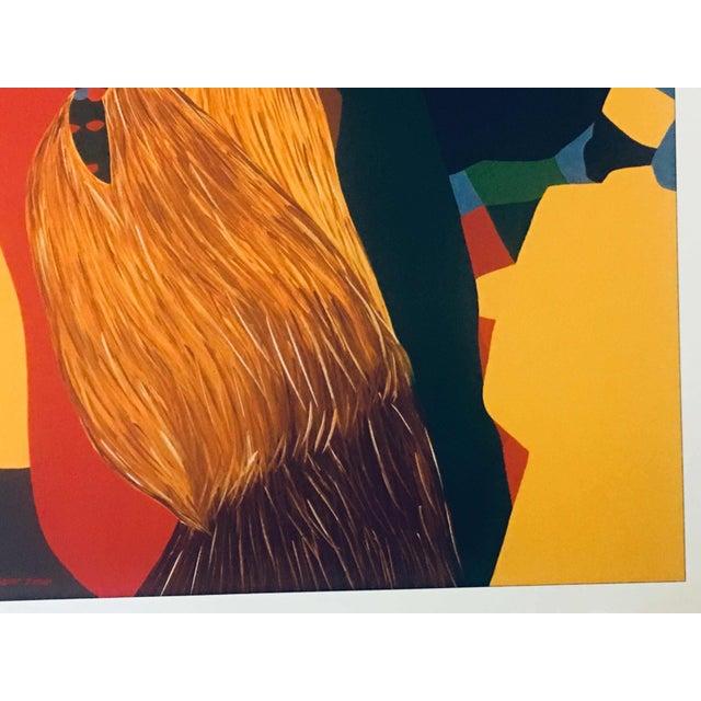 "Black 1996 Black Heritage Art Show ""Celebration"" Poster by Synthia Saint James For Sale - Image 8 of 11"