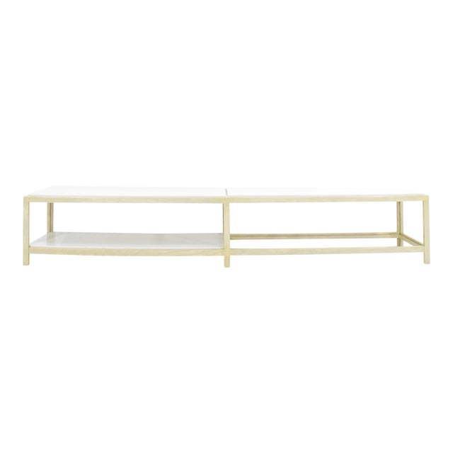Dunbar Coffee Table or Bench in Light Ash For Sale