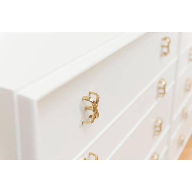 Paul Frankl 10 Drawer Dresser - Image 7 of 8