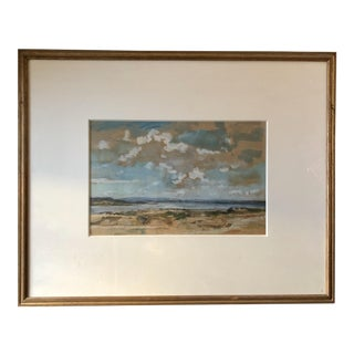 Early 20th Century Antique Western Highlands British Watercolor Painting For Sale