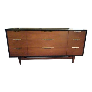 Kent Coffey The Tableau Collection Walnut Standard Dresser