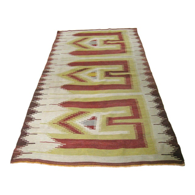 Antique Karapinar Prayer Mat | 4'1 X 7'3 For Sale