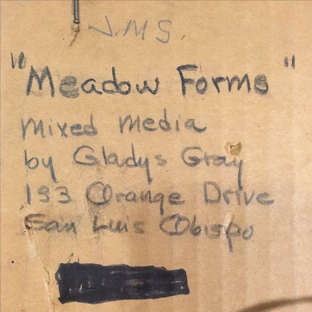 Mixed Media Framed Art Piece by Gladys Gray | Chairish