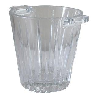 Vintage Glass Ice Bucket
