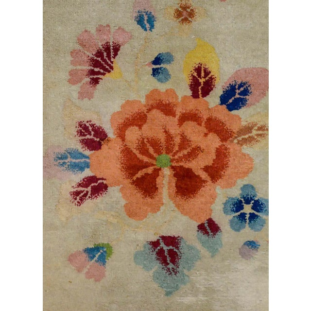 Chinese Art Deco Rug For Sale In Chicago - Image 6 of 10