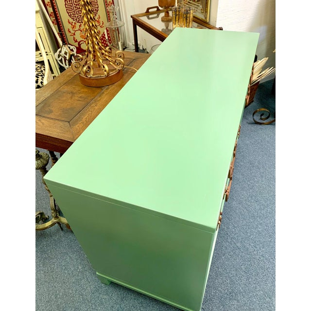 1960s Landstrom Furniture Co. Chinese Chippendale Sideboard For Sale - Image 9 of 13