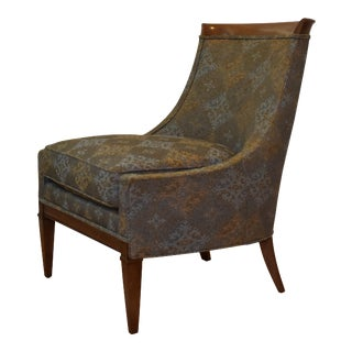 1960s Drexel Heritage Mid-Century Highback Lounge Chair Styled After Harvey Probber For Sale