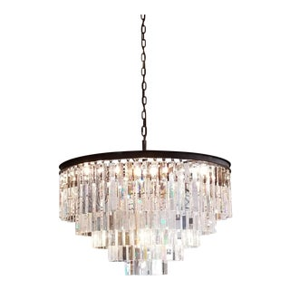 Restoration Hardware 1920s Odeon Style Fringe 5-Tier Chandelier