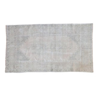 "Distressed Oushak Rug - 3'8"" X 6'6"""