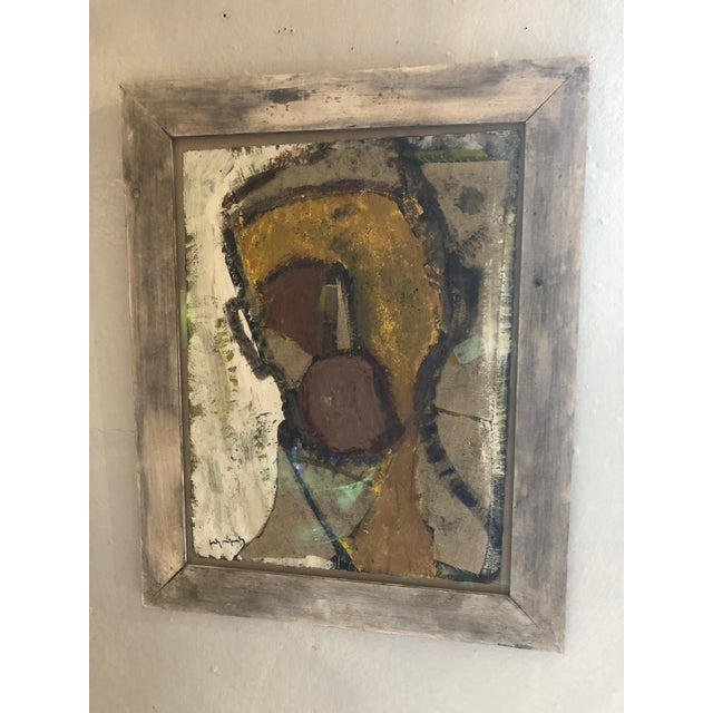 Mixed-Media Painting and Collage by Barcelona Artist For Sale - Image 12 of 12