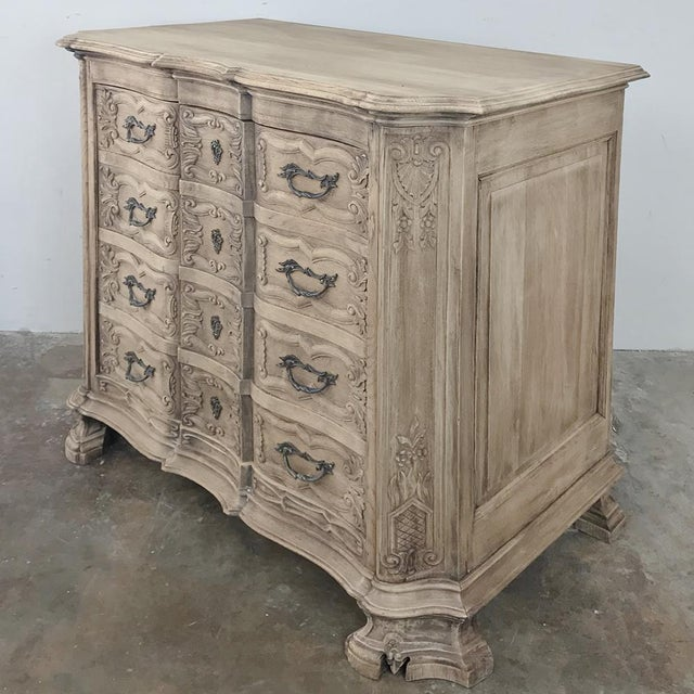 French 19th Century French Regence Buffet With Faux Drawer Façade For Sale - Image 3 of 13