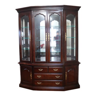 Vintage Thomasville China Cabinet For Sale