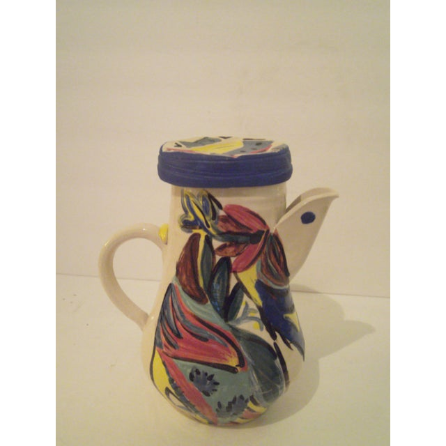 Art Pottery Covered Carafe - Image 3 of 7