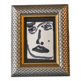 Image of Original Abstract Face Painting by Robert Cooke For Sale