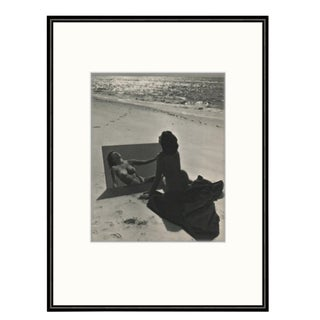 1950s France Andre De Dienes Black & White Nude Photograph For Sale