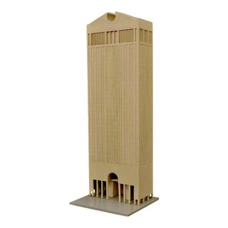 Original Architectural Model of At&t Building by Philip Johnson, Usa 1979 For Sale