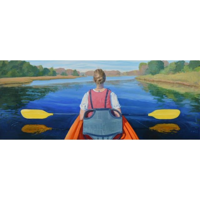 """""""The Journey"""". Large (32"""" X 80"""") Contemporary Painting by Stephen Remick For Sale - Image 13 of 13"""