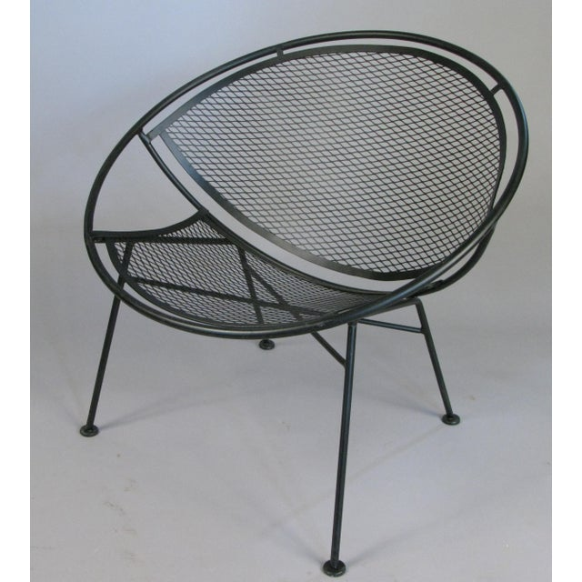 Modern Salterini 'Radar' Collection Lounge Chairs by Tempestini- A Pair For Sale - Image 3 of 7