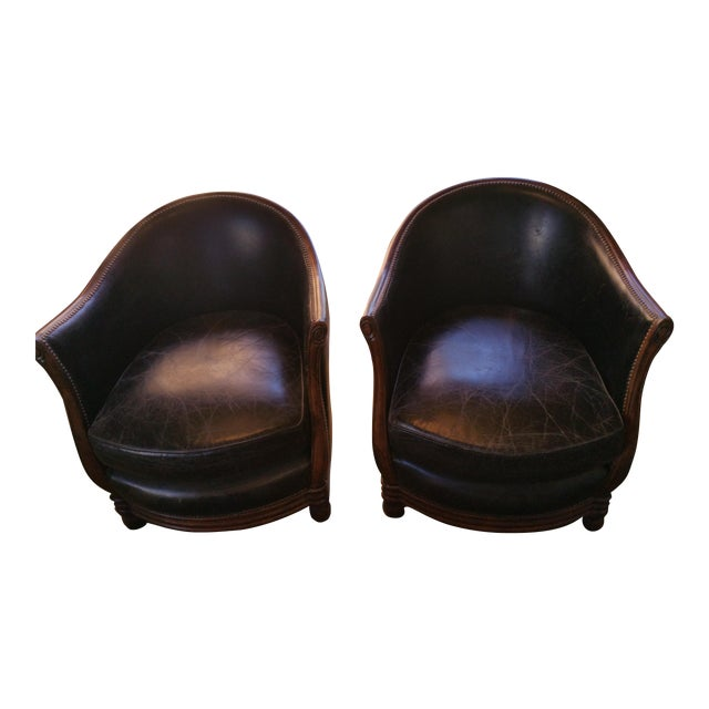 Halo Bucket Chairs - Pair - Image 1 of 6