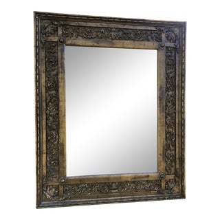 1970s Boho Chic Style Wall Mirror For Sale