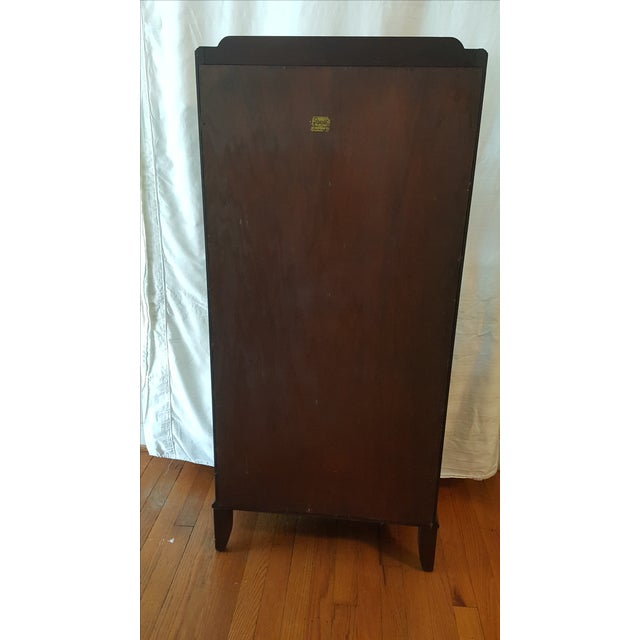 Dark Wood Bookcase - Image 6 of 7
