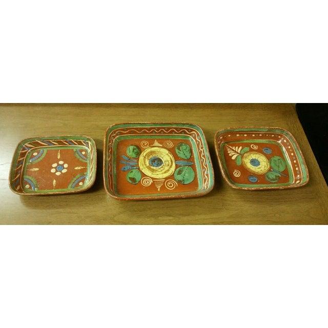 Tlaquepaque Mexican Bowls - Set of 3 - Image 2 of 7